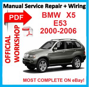 Admirable Official Workshop Manual Service Repair For Bmw X5 E53 2000 2006 Wiring Cloud Gufailluminateatxorg