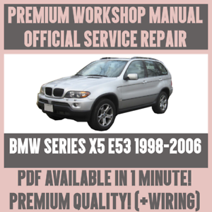 Fabulous Workshop Manual Service Repair Guide For Bmw X5 E53 1998 2006 Wiring Cloud Genionhyedimohammedshrineorg