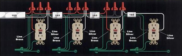 Miraculous Electrical How Do I Install A Gfci Receptacle With Two Hot Wires Wiring Cloud Hisonepsysticxongrecoveryedborg