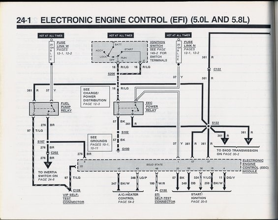 1988 ford e150 alternator wiring diagram 1990 ford mustang wiring diagram e1 wiring diagram  1990 ford mustang wiring diagram e1