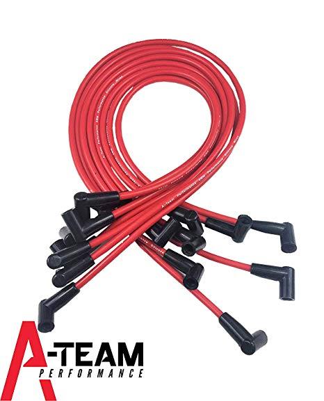 Peachy Amazon Com A Team Performance Silicone Spark Plug Wires Set Wiring Cloud Staixaidewilluminateatxorg