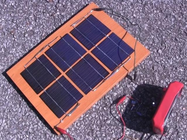 Marvelous Diy Homemade Solar Panel Simple One Wiring Cloud Icalpermsplehendilmohammedshrineorg