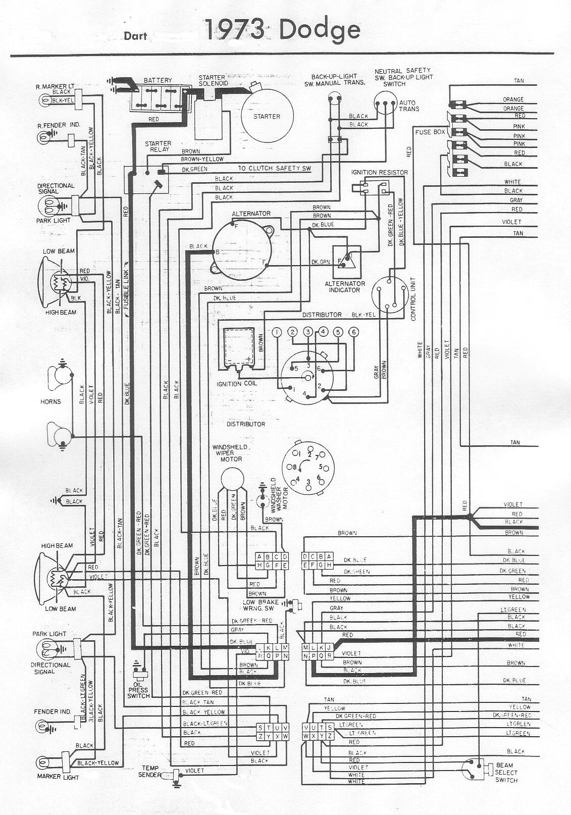 1972 dodge dart wiring diagram schematic 1974 dodge dart wiring diagram wiring diagram schematics  1974 dodge dart wiring diagram wiring