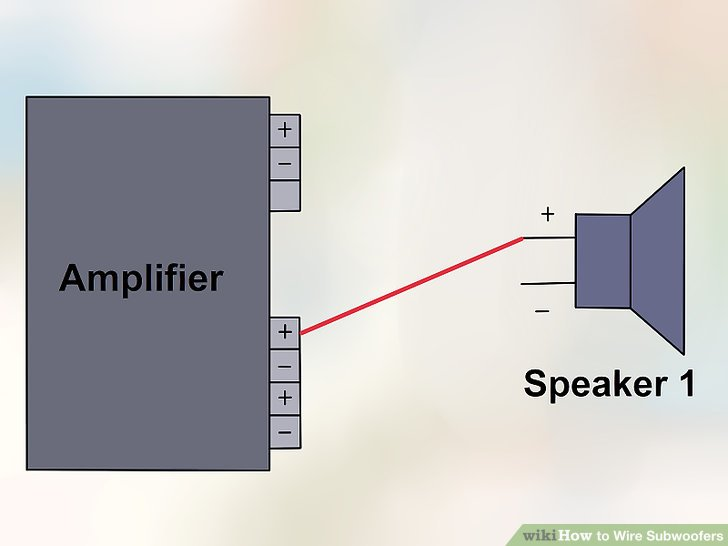 Swell How To Wire Subwoofers 13 Steps With Pictures Wikihow Wiring Cloud Xempagosophoxytasticioscodnessplanboapumohammedshrineorg