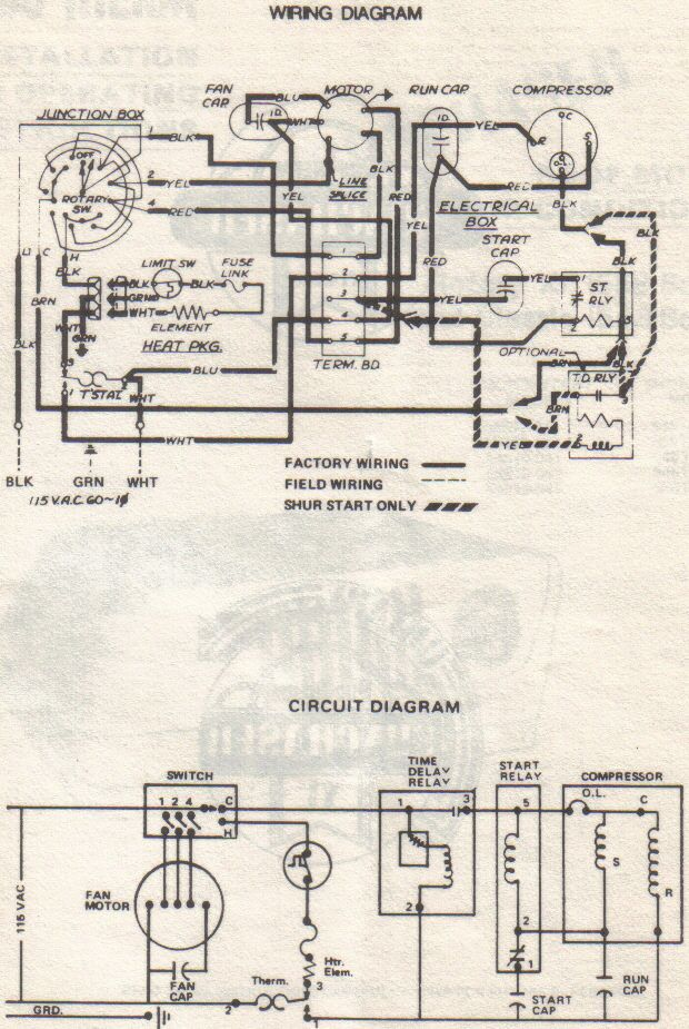 Ya 3308 Duo Therm Air Conditioner Wiring Diagram Download Diagram