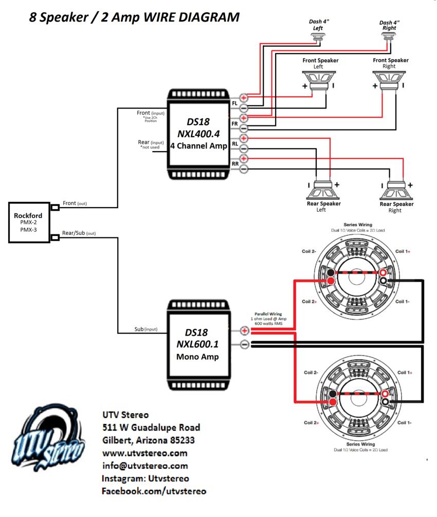2 Amp Wiring Diagram