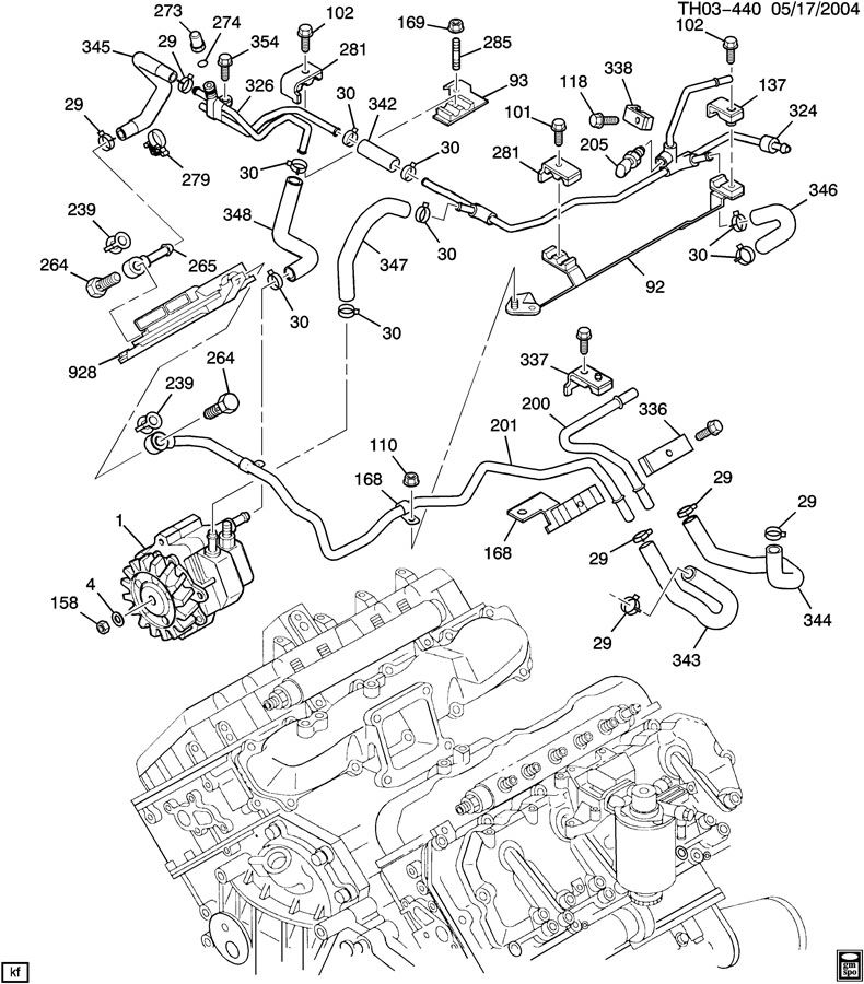 Mo 8237  Duramax Engine Parts Diagram Download Diagram