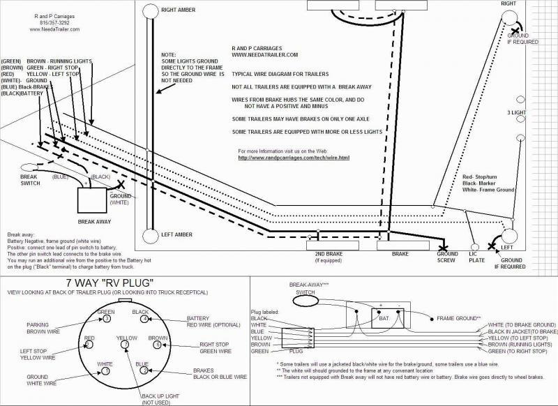 zm1349 bargman trailer plug wiring diagram free diagram