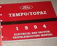 Ok 8333 1994 Mercury Topaz Fuse Diagram Schematic Wiring