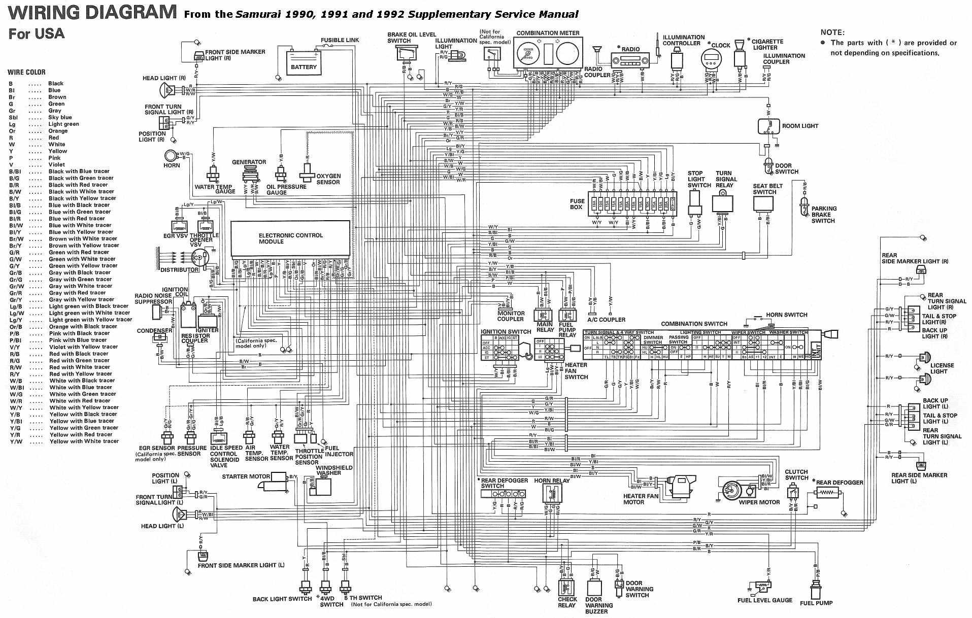 87 Suzuki Samurai Ignition Wiring Diagram