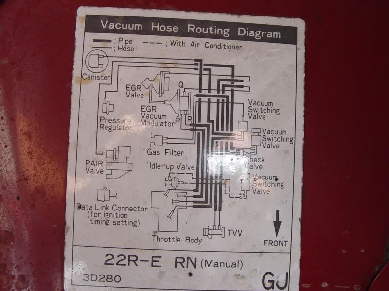 Terrific 1994 Vacuum Diagram Yotatech Forums Wiring Cloud Timewinrebemohammedshrineorg