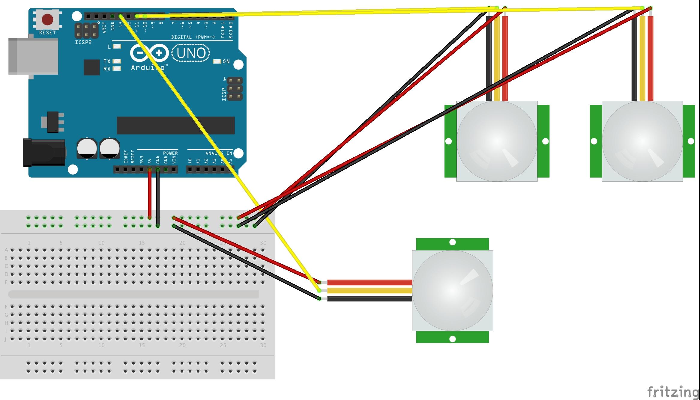 Ll 5035 Wiring 2 Pir Sensors Diagram Wiring Diagram