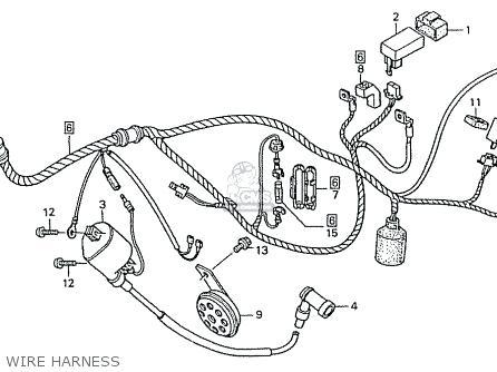 Honda Xrm 110 Wiring Diagram
