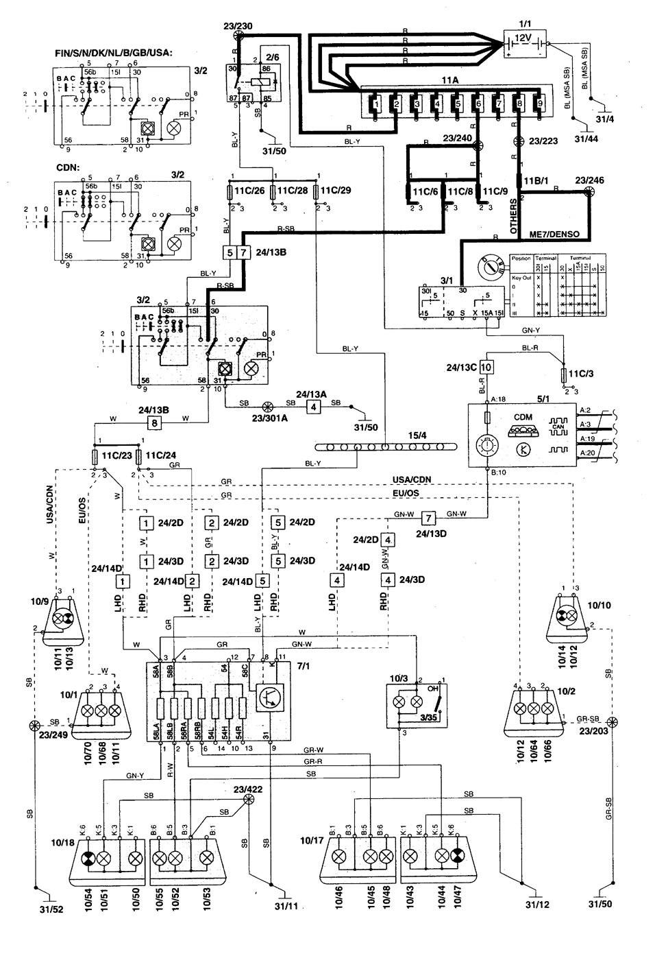 [ZSVE_7041]  HG_4263] Wiring Diagram Furthermore Volvo Vnl Truck Wiring Diagrams  Headlight Schematic Wiring | Volvo Vnl Truck Wiring Diagrams Low Air |  | Lukep Aidew Illuminateatx Librar Wiring 101