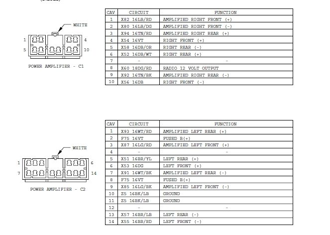 Nh 1952  Cherokee Infinity Gold Wiring Diagram On Wiring Diagram For Jeep Tj Schematic Wiring