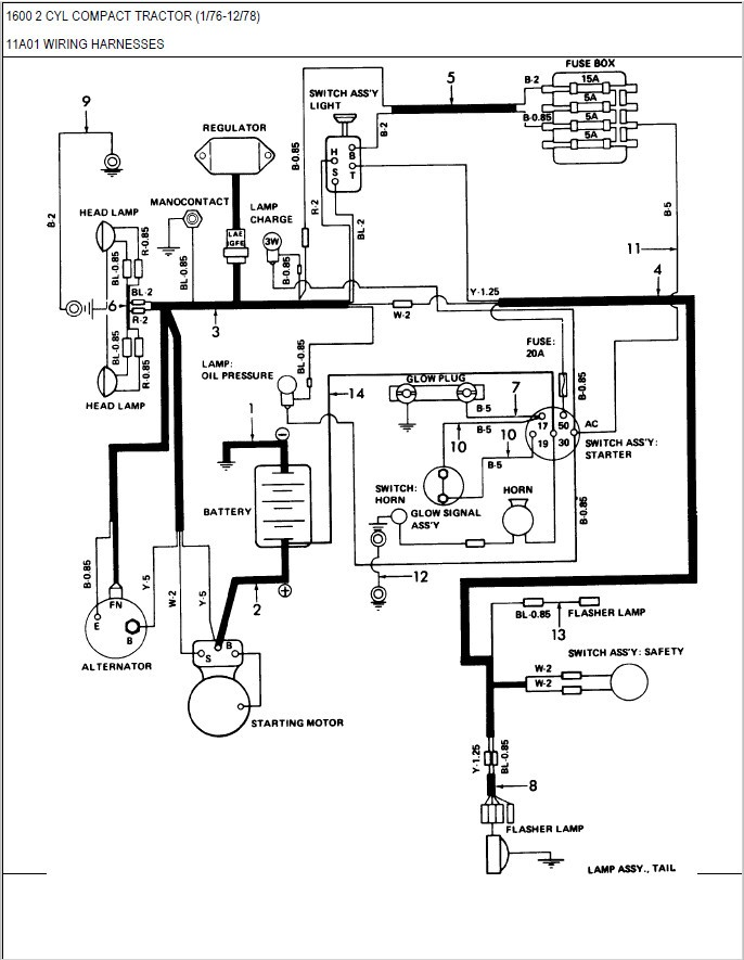 diagram ford 2000 tractor wiring diagram gauge full version