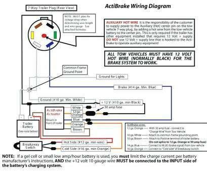 impulse trailer brake controller wiring diagram  12v