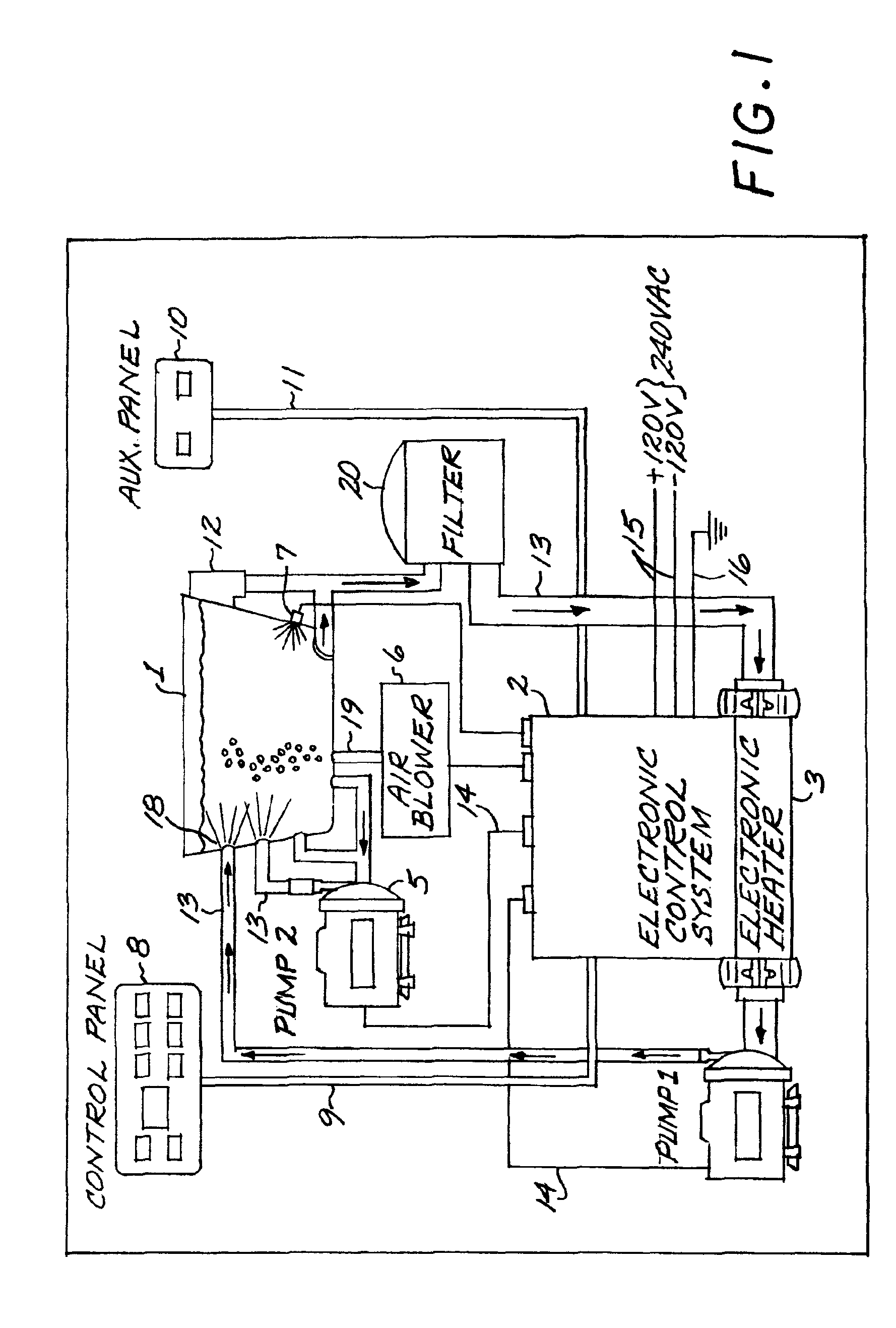 Cal Spa Pump Wiring Diagram