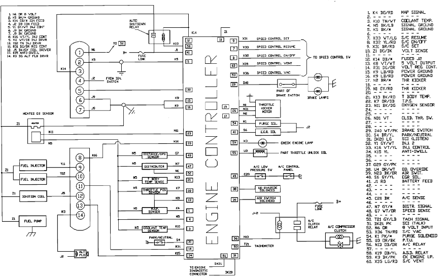 Terrific 1989 Dodge Wiring Coil Wiring Diagram Database Wiring Cloud Dulfrecoveryedborg