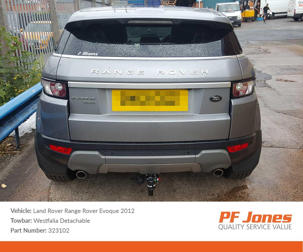 Land Rover Range Rover Towbar 2002 to 2012 Tow Bar