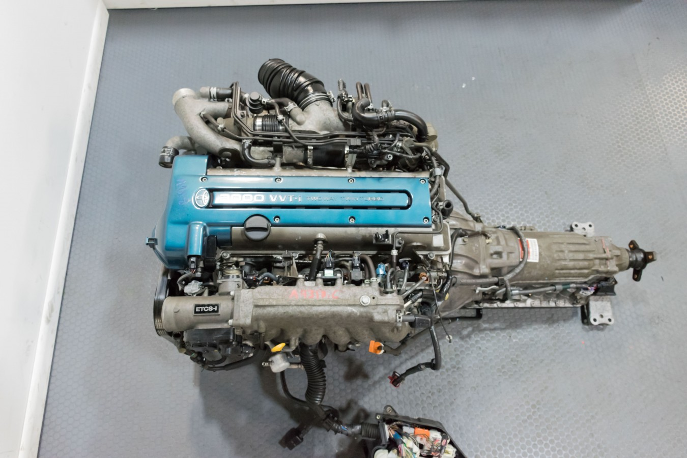 Groovy Toyota Aristo Front Sump 2Jz Gte Engine With Auto Trans Ecu Wiring Cloud Orsalboapumohammedshrineorg