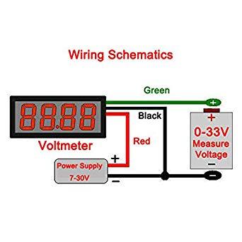 Yf 0279 12v Voltmeter Wire Diagram Wiring Diagram
