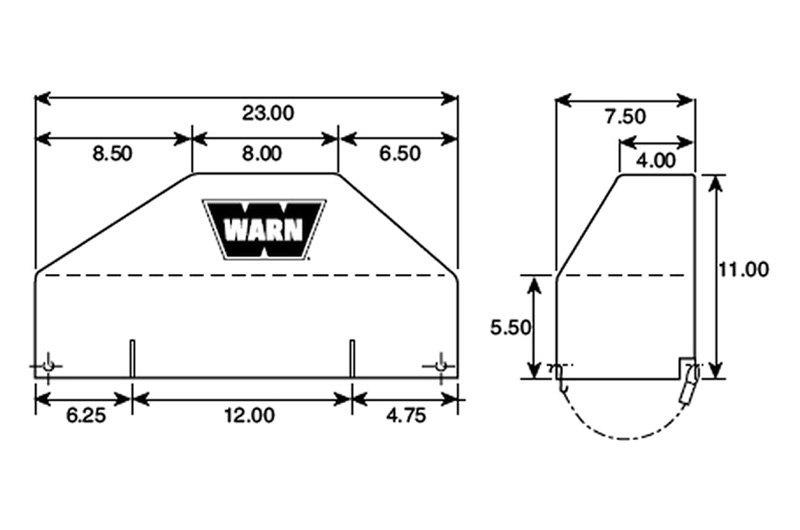 Warn X8000i Wiring Harness Diagram
