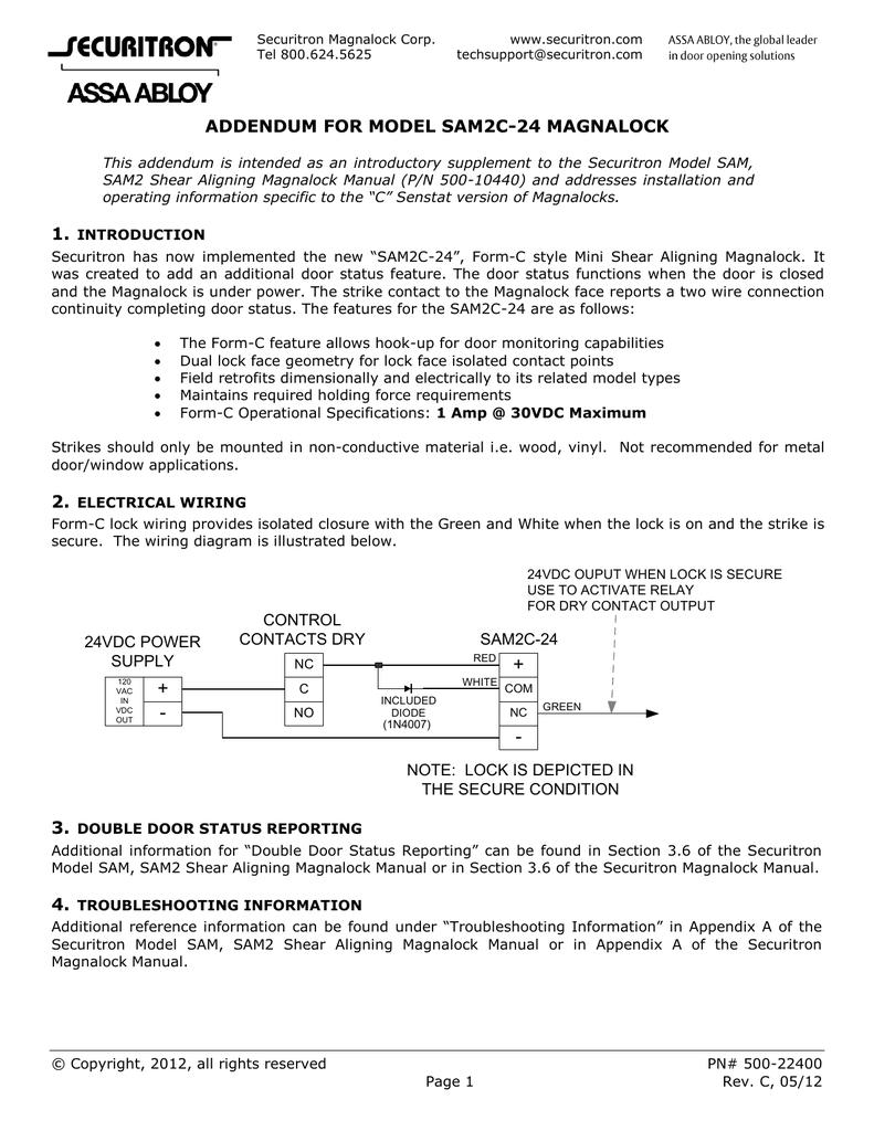 [ZSVE_7041]  VF_8158] Securitron Maglock Wiring Diagram Download Diagram | Securitron Wiring Diagrams |  | Erbug Heeve Mohammedshrine Librar Wiring 101