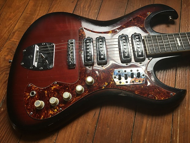 Teisco Guitar Wiring Diagram - Collection