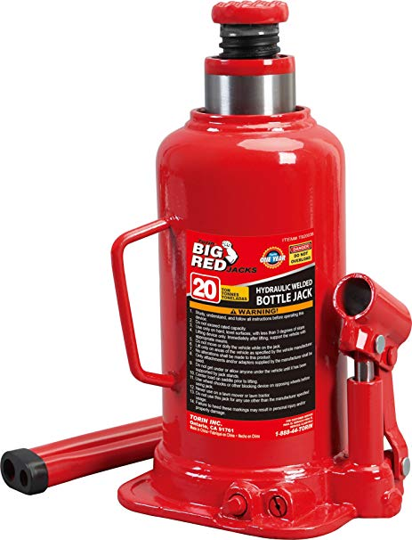AFF 5620SD Bottle Jack 20 Ton Capacity Super Duty Air//Hydraulic