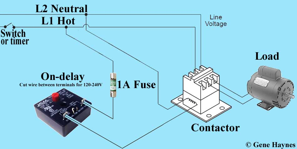 Cv 9251 Solid State Time Delay Relay Wiring Diagram