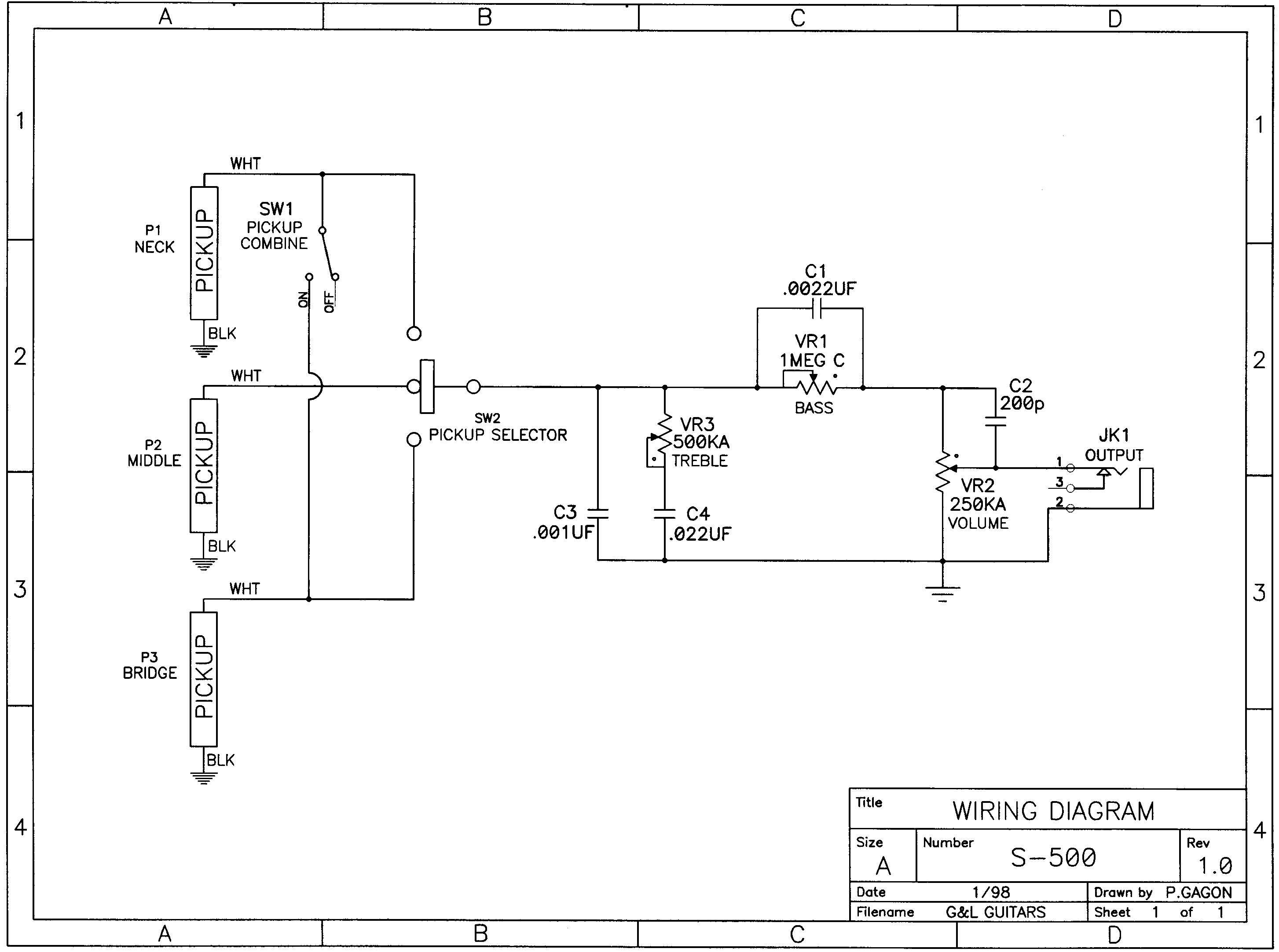 Lw 1548 Guitar Wiring Diagrams Pdf Moreover Prs Guitar Wiring