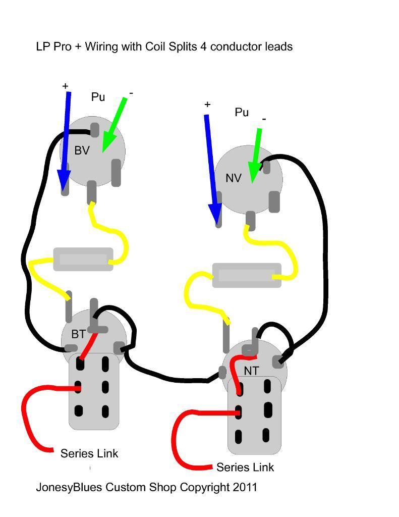 Lh 4054 Les Paul Wiring Diagram Likewise Les Paul Split Coil Wiring Diagram Wiring Diagram