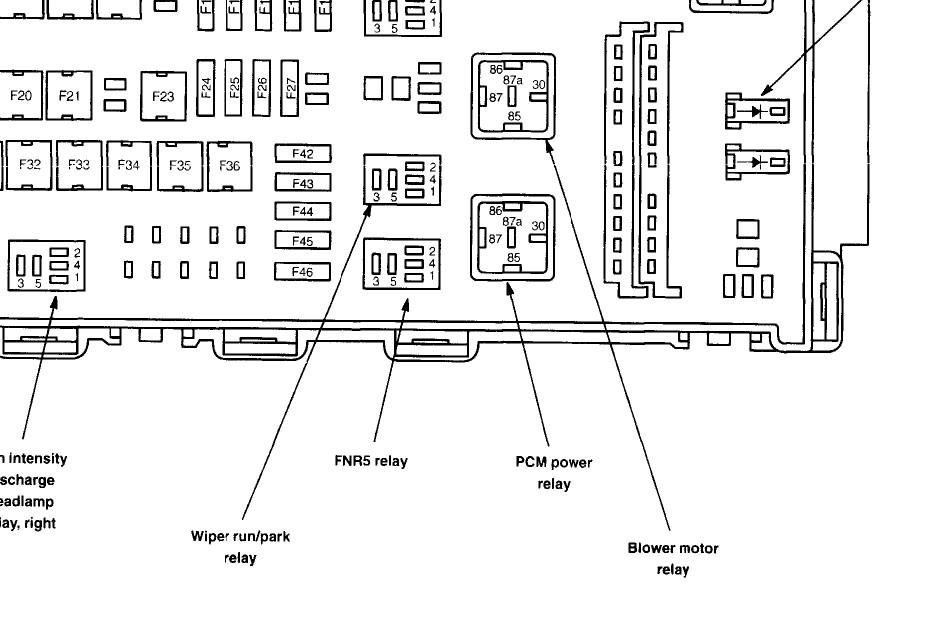 TR_4914] 06 Ford Fusion Fuse Box Diagram 06 Fusion Wiring Diagram Gray Mopar Vira Mohammedshrine Librar Wiring 101