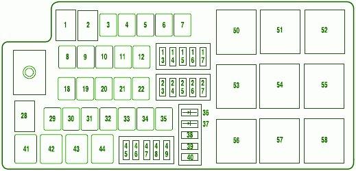 2006 Fusion Fuse Diagram Mini Cooper Lights Wiring Diagram For Wiring Diagram Schematics