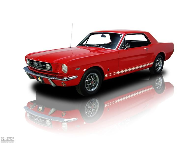 Terrific 132254 1966 Ford Mustang Rk Motors Classic Cars For Sale Wiring Cloud Waroletkolfr09Org