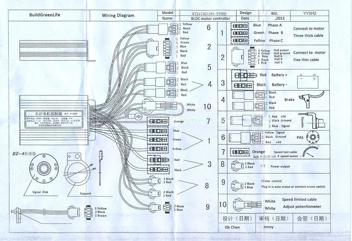 Ws 7189  E Bike Controller Wiring Diagram Wiring Diagram