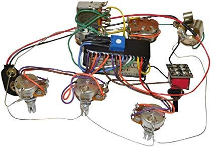 Incredible Amazon Com Bartolini Hr 5 4Ap 918 Preamp Harness 3 Band Eq W 5 Wiring Cloud Hemtshollocom