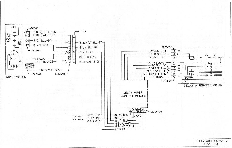 1968 chevy wiper motor wiring diagram hg 2829  gm delay wiper motor wiring diagram schematic wiring  wiper motor wiring diagram schematic wiring