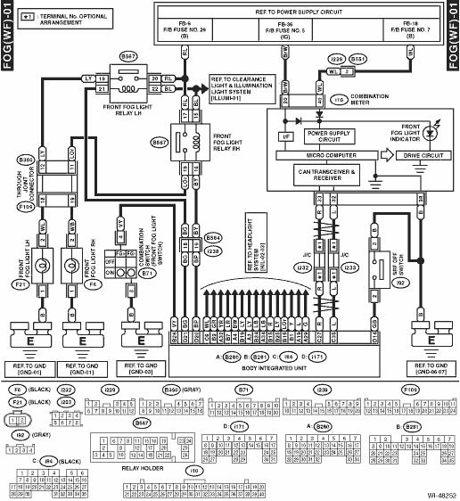 Subaru Lights Wiring Diagram Database Wiring Diagram