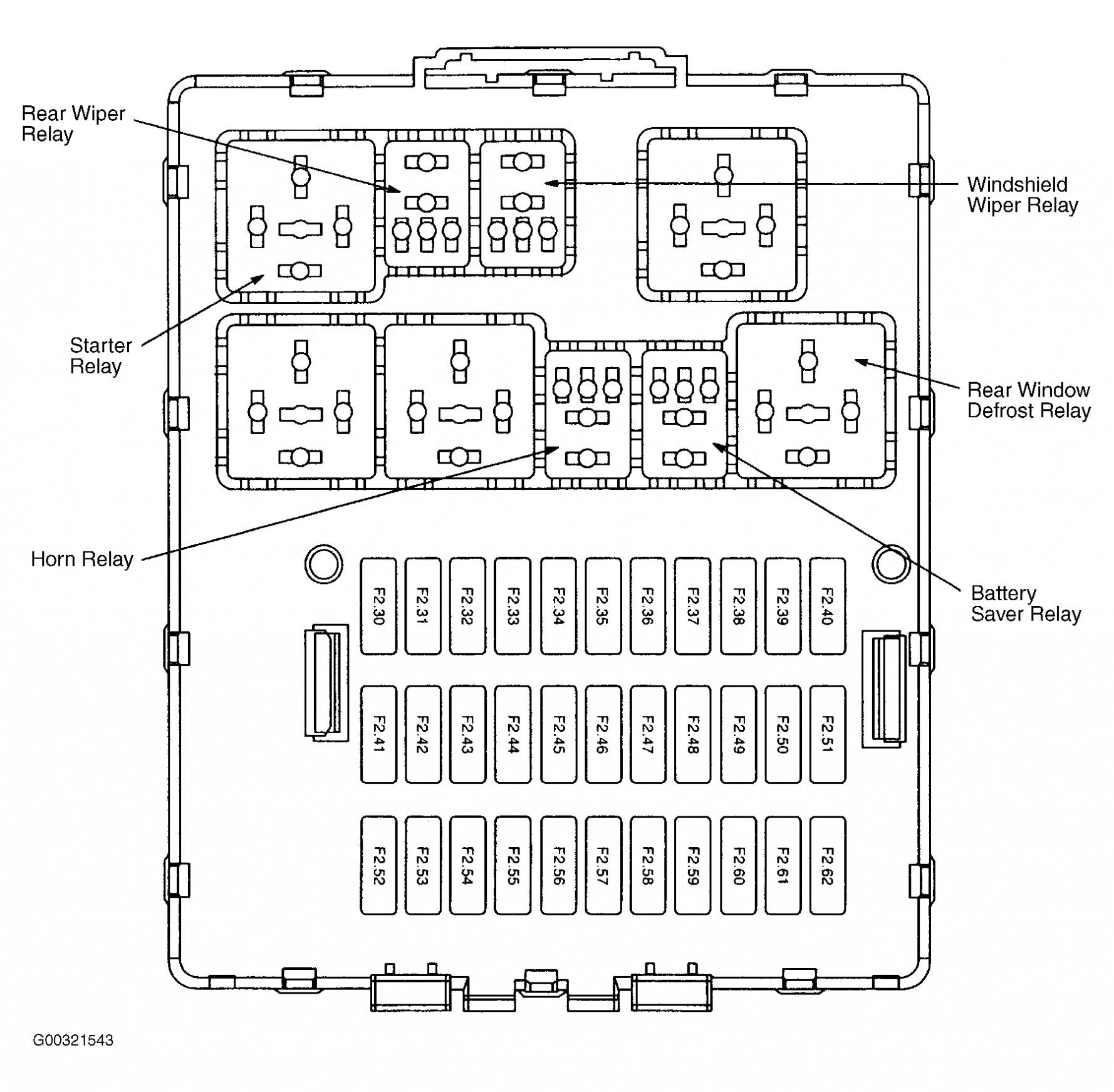 Om 5439 2005 Explorer Fuse Box Diagram Free Diagram