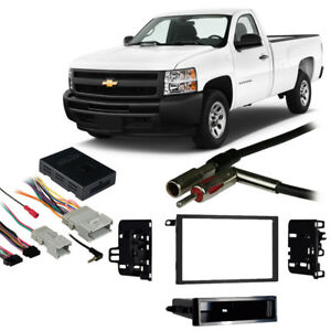 Magnificent Fits Chevy Silverado Pickup Classic 2007 Double Din Harness Radio Wiring Cloud Licukshollocom