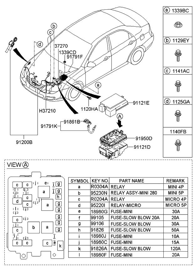 2005 Kia Spectra5 Wiring Diagram