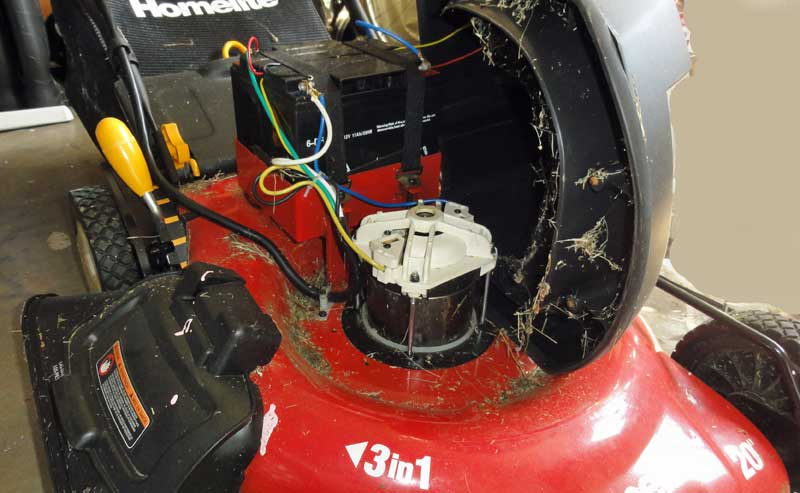 Fantastic Homelite 20 Cordless Electric Mower Terry Love Plumbing Remodel Wiring Cloud Onicaalyptbenolwigegmohammedshrineorg