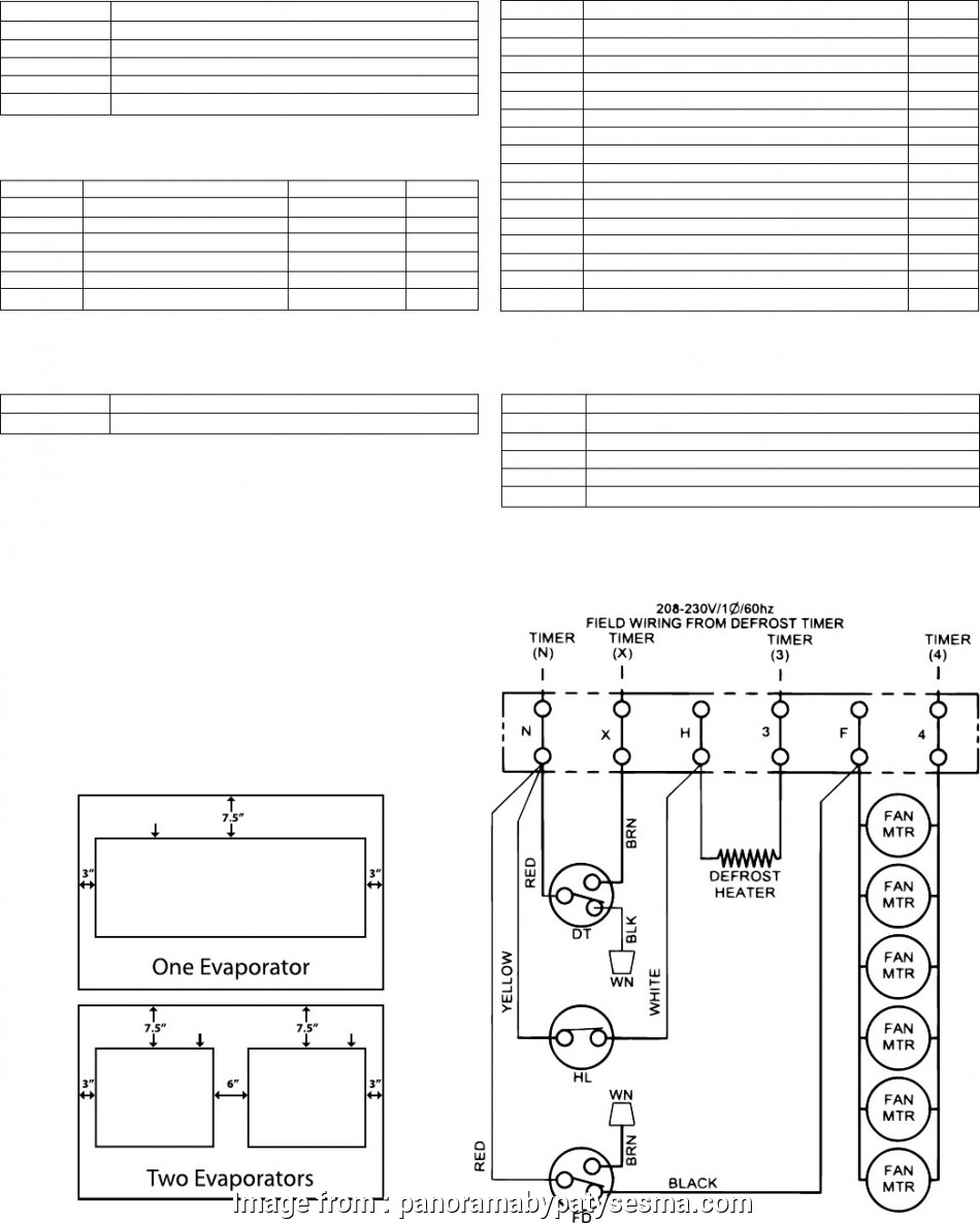 HA_4577] Walk In Cooler Wiring Diagram With Defroster Wiring Diagram