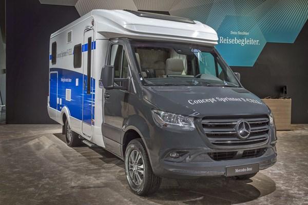 Superb Mercedes Benz Concept Sprinter F Cell Campervan At 2018 Dusseldorf Wiring Cloud Xempagosophoxytasticioscodnessplanboapumohammedshrineorg