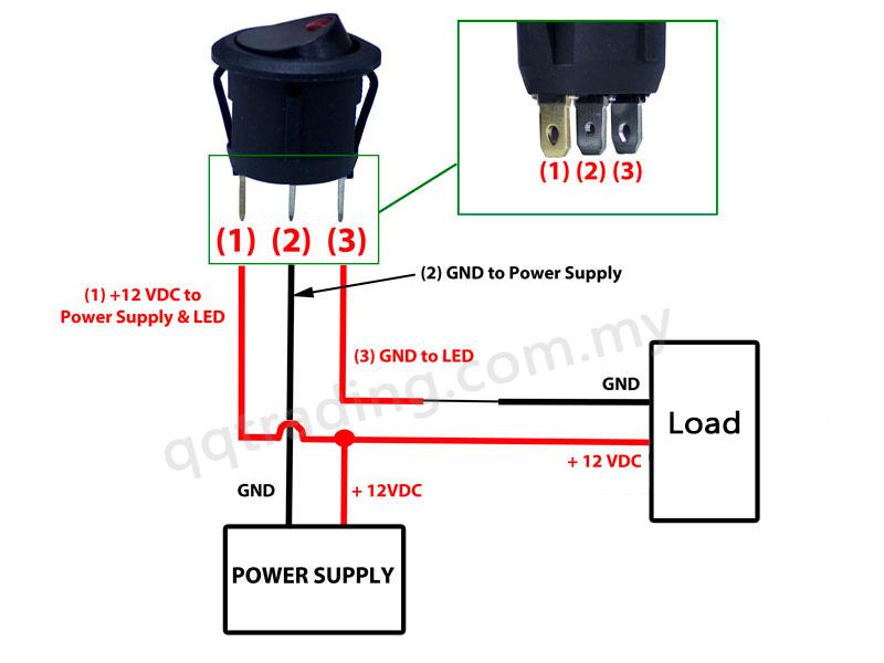 illuminated toggle switch wiring diagram oz 0760  rocker switch wiring diagram free diagram  oz 0760  rocker switch wiring diagram