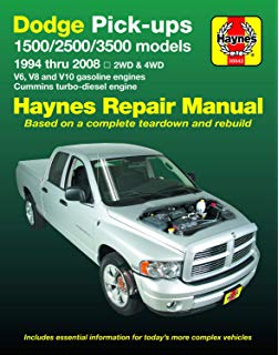 Superb Dodge Pick Ups 1994 2001 Haynes Repair Manuals Robert Haynes Wiring Cloud Xortanetembamohammedshrineorg