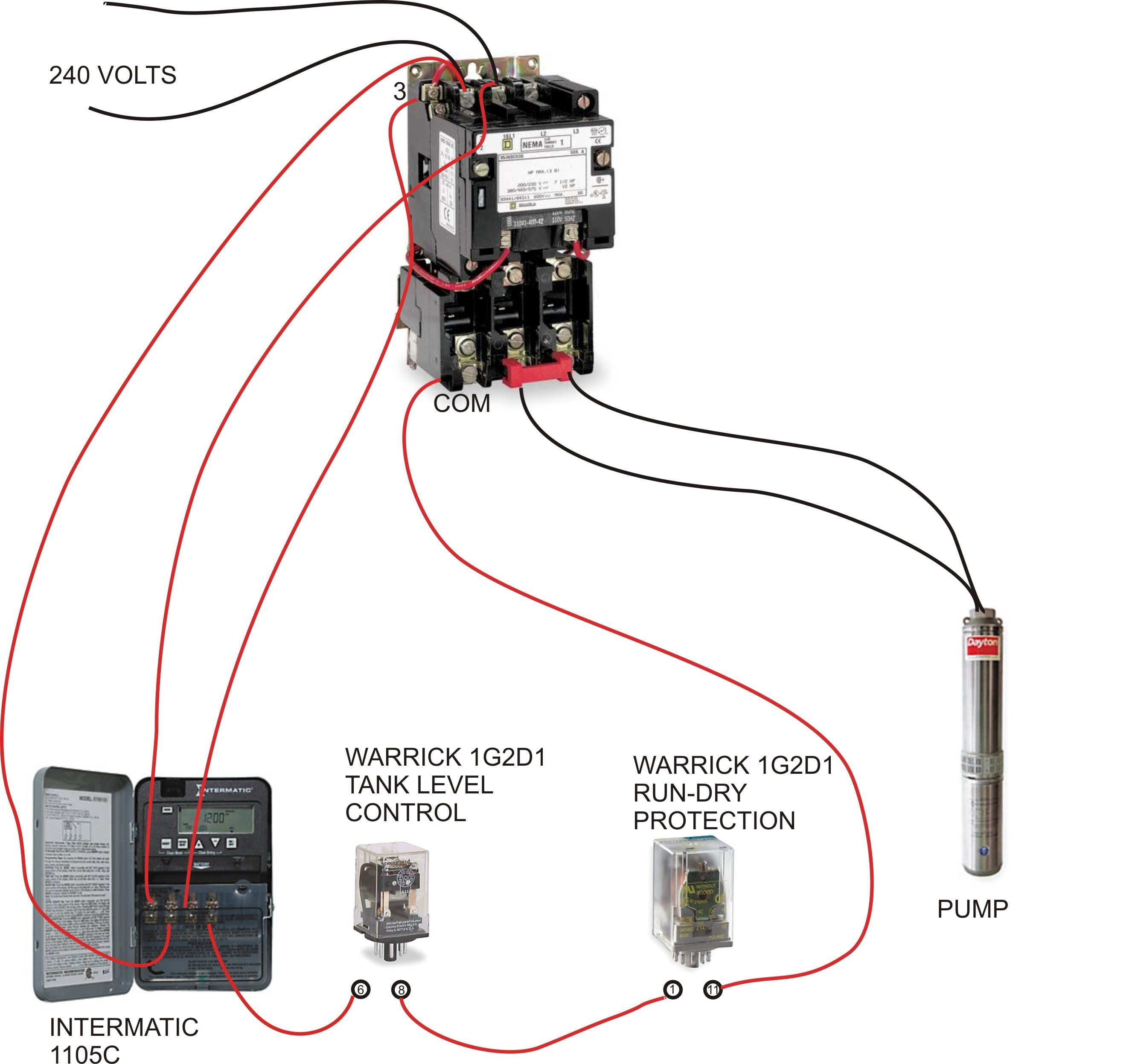 Admirable Square D Magnetic Motor Starter Wiring Diagram 240 Volt Fresh For Wiring Cloud Filiciilluminateatxorg