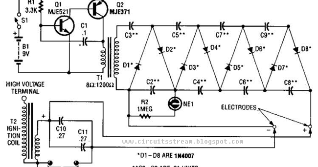 Sensational 9 Volt Amplifier Circuit Diagram Auto Electrical Wiring Diagram Wiring Cloud Overrenstrafr09Org